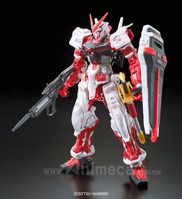 Gundam Astray Red Frame MBF-P02 Real Grade (RG) 1/144 Model Kit Mobile Suit Gundam SEED ASTRAY