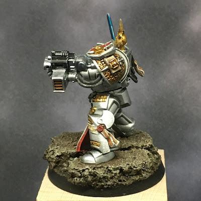 Grey Knight Brotherhood Champion left side