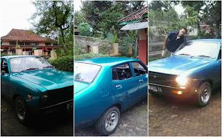 Jual Mobkas Retro Jepang Datsun 120Y - JABAR