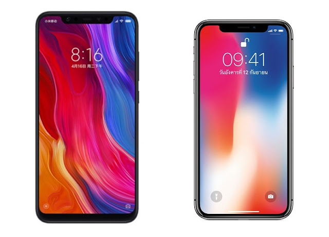 Body Xiaomi 8 Mirip iPhone X