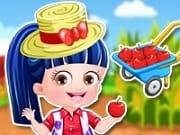 Baby Hazel Farmer Dressup is a free online game for girls on GamesGirlGames.com.Baby Hazel is visiting her uncle's farm to collect fresh veggies for the supper. Little princess needs your help to get ready in nice-looking outfit and accessories. Dress her up with fabulous fashion in this fun dress up games. Mix and match the skirts, tops, pants, boots, hats and hairstyles to give Hazel a perfect farmer makeover. Be quick, she has to leave for the farm on time.
