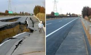 """Jepang Perbaiki """"Sinkhole"""" Sedalam 15 Meter Hanya Dalam Waktu 2 Hari!"""