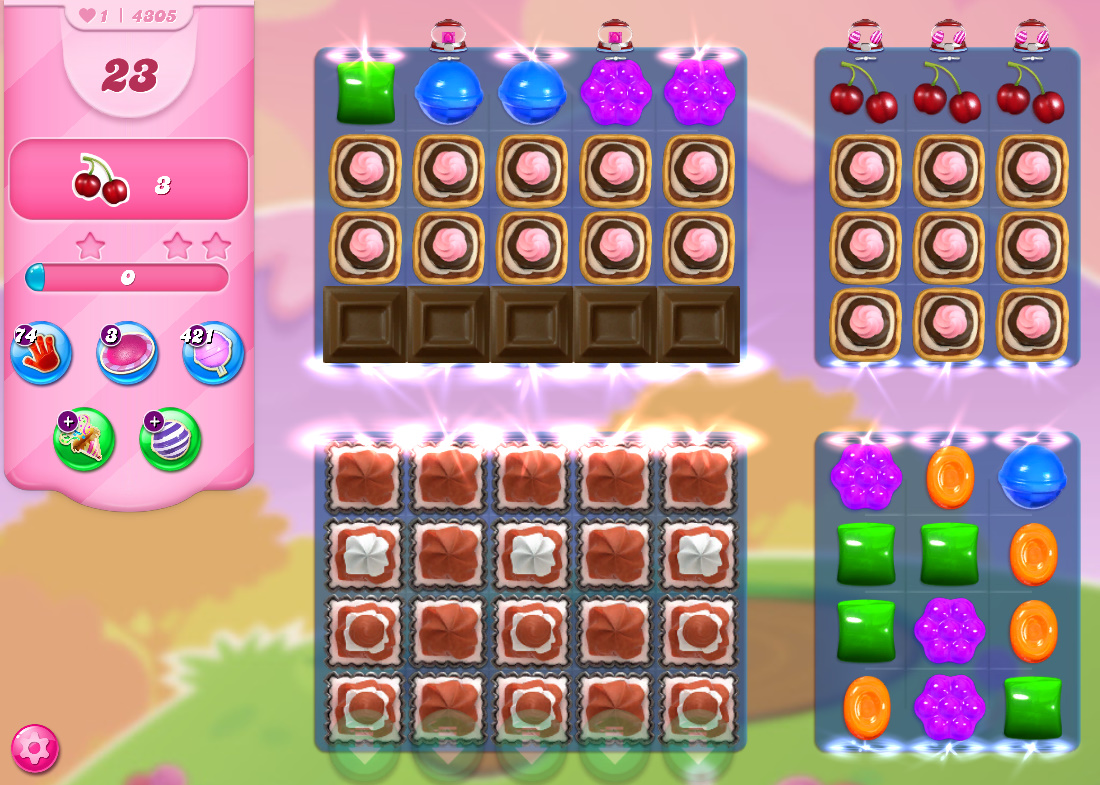 Candy Crush Saga level 4305
