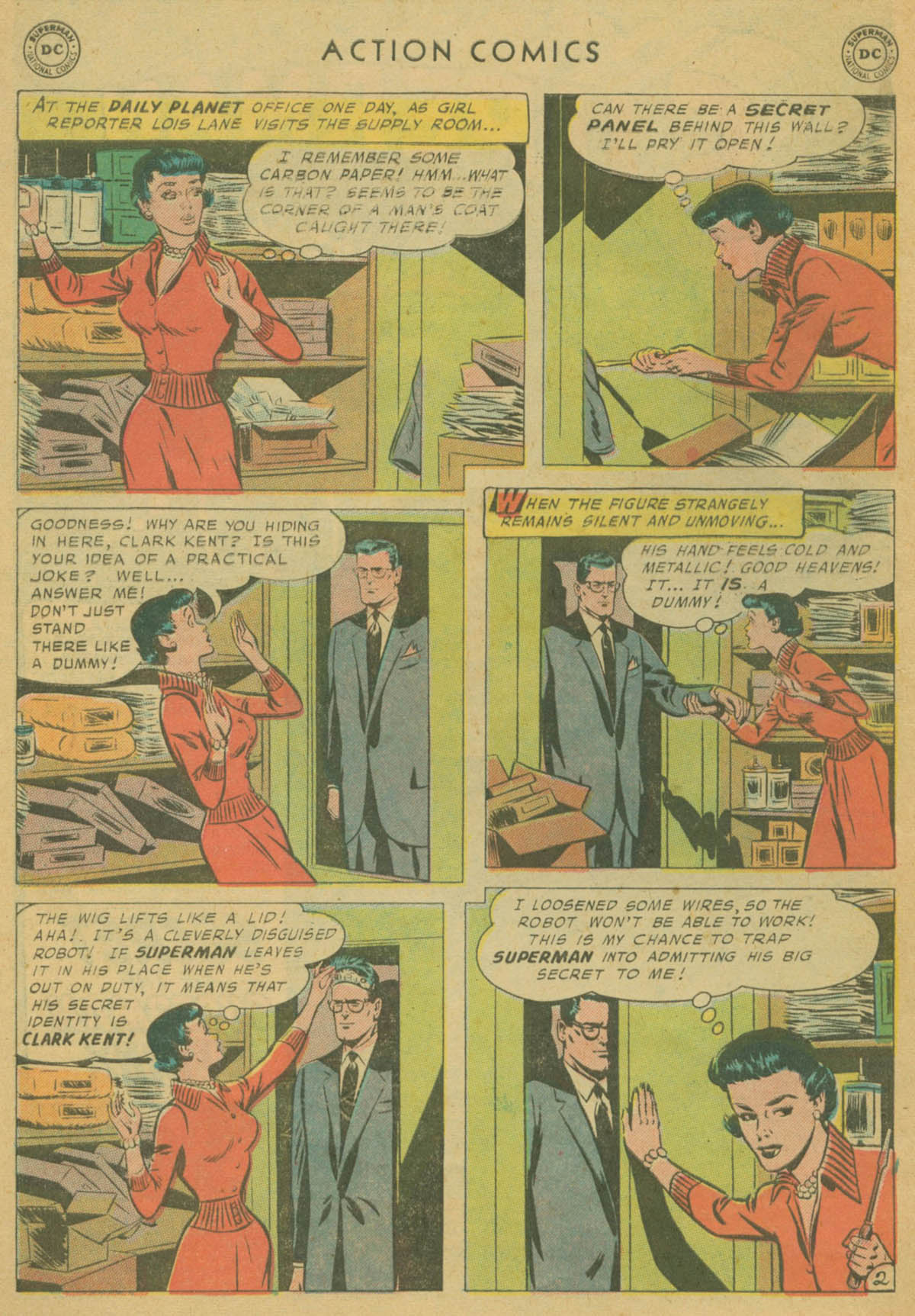 Action Comics (1938) 240 Page 3