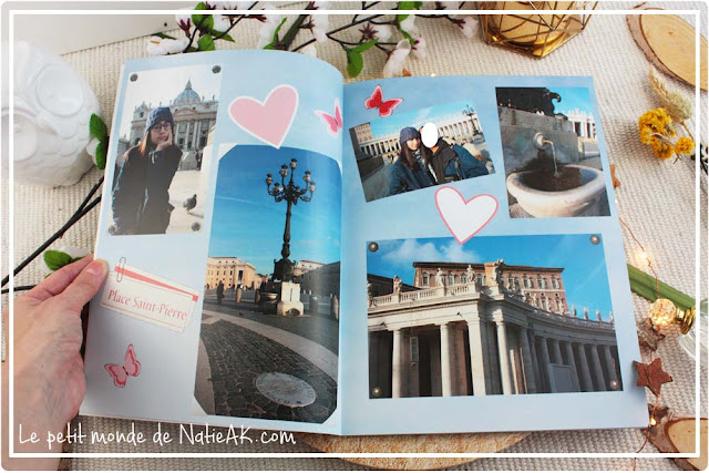Avis sur le Livre photo Evasion de myFujifilm : le Vatican Rome