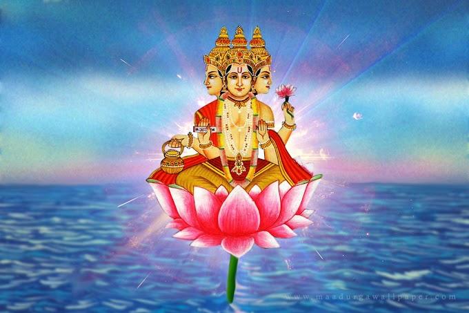 Brand Elements in Hindu Mythology - Brahma
