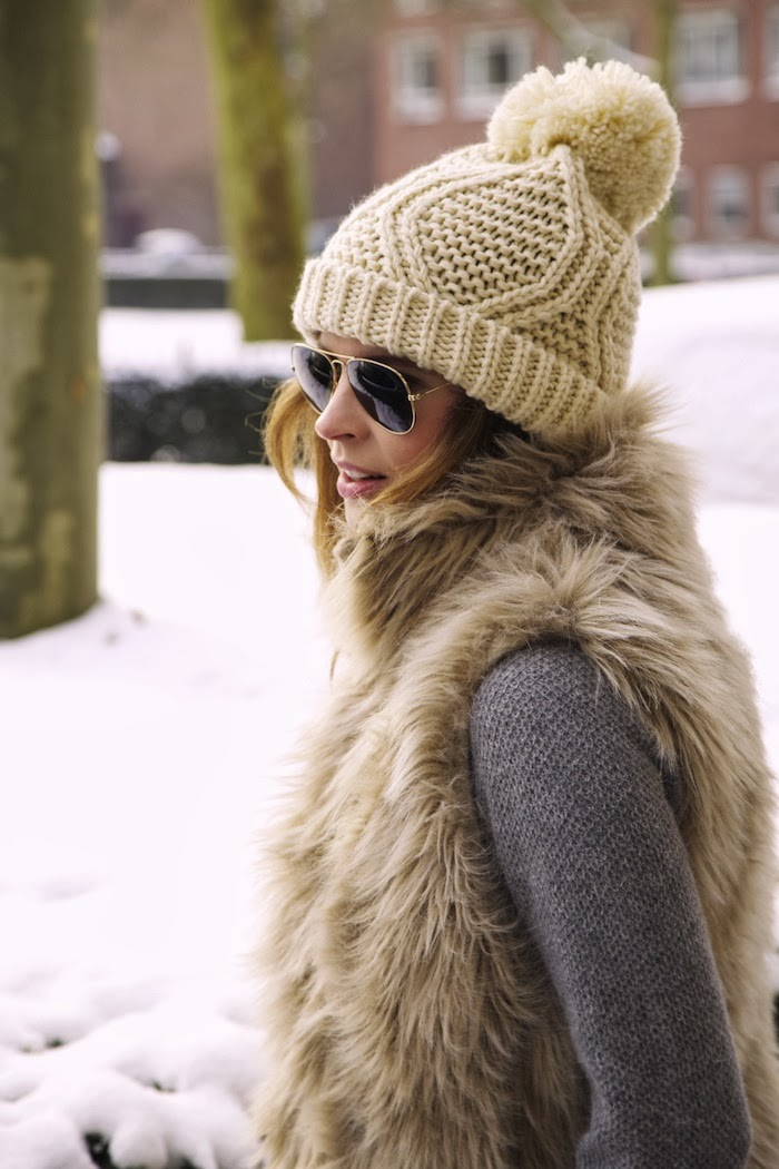 Chic with faux fur