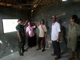 Mushola Tidak layak pakai karna Gempa, direnovasi oleh Tim Bedah Koramil 2121 Cibungbulang - Responsive Blogger Template