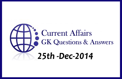 Current Affairs and GK questions