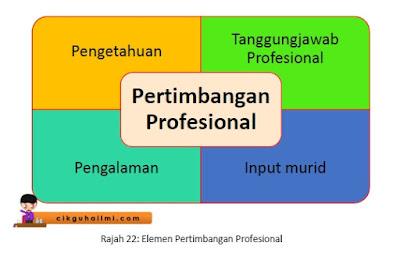 Elemen Pertimbangan Profesional