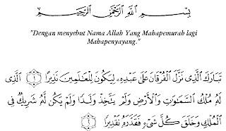 Bacaan Surat Al-Furqan Lengkap Arab, Latin dan Artinya