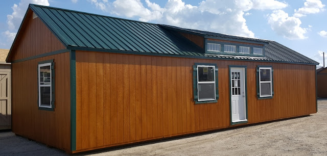 16x40 Portable Sheds : Wolfvalley buildings storage shed portable cabin