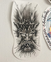 дракон тату в уфе