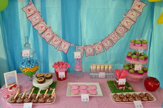 100 Ideias para festa Peppa Pig