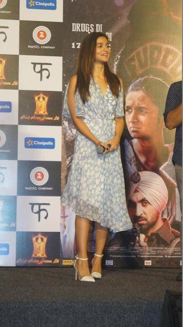 Alia Bhatt at Udta Punjab song promotion