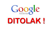 google adsense ditolak ini alternatifnya