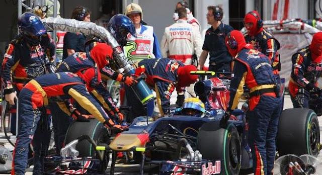 Bahan Bakar Mobil Formula One / F1