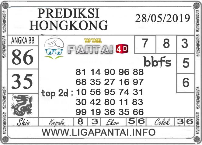 """Prediksi Togel """"HONGKONG"""" PANTAI4D 28 MEI 2019"""