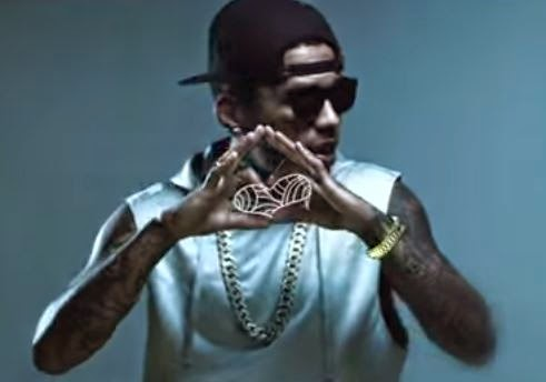 "Kid Ink ""I Don't Care"" music video Featuring Maejor Ali"