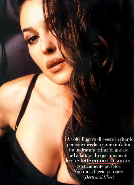 Hot Italian Celebrity Monica Belluci Picture Gallery