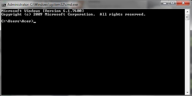 cara mengetahui password wifi menggunakan CMD
