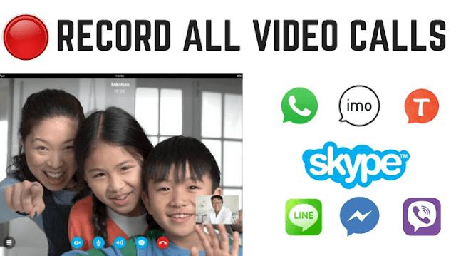 ثلاث تطبيقات لتسجيل مكالمات فيديو الواتس آب والفايسبوك مجانا وبدون Root