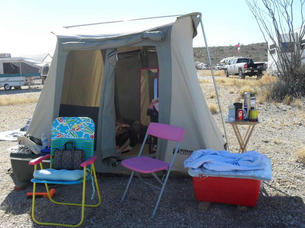 I do not think I have researched something as much as I researched finding the perfect tent for my annual trip to the Chili Cook-off in Terlingua Texas. & Terlingua Dreams: My wonderful Kodiak Canvas Tent