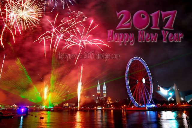 Happy New Year 2017 Full HD Fireworks Wallpapers Download