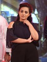 Nithya Menon New Photos at Janatha Garage Movie Audio Launch Celebrations