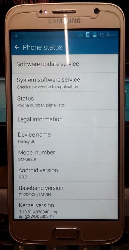 test test: (SM-G920F) Samsung S6 Clone (MT6572) Firmware