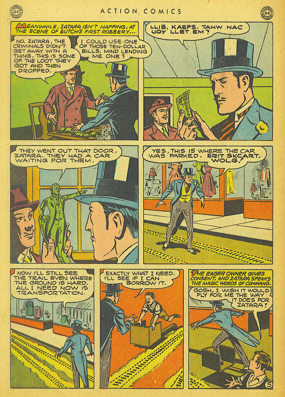 Read online Action Comics (1938) comic -  Issue #86 - 46