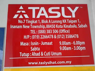 Tasly Sabah