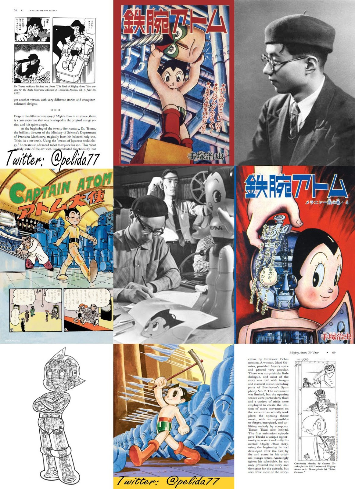 the astro boy essays A detailed guide of all series to date (1960s, 1980s, 2003, and little astro boy)  astroboy online is a non-profit fan site for tezuka productions astro boy.