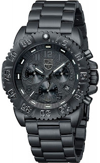Luminox 3182.BO Black Steel Chronograph
