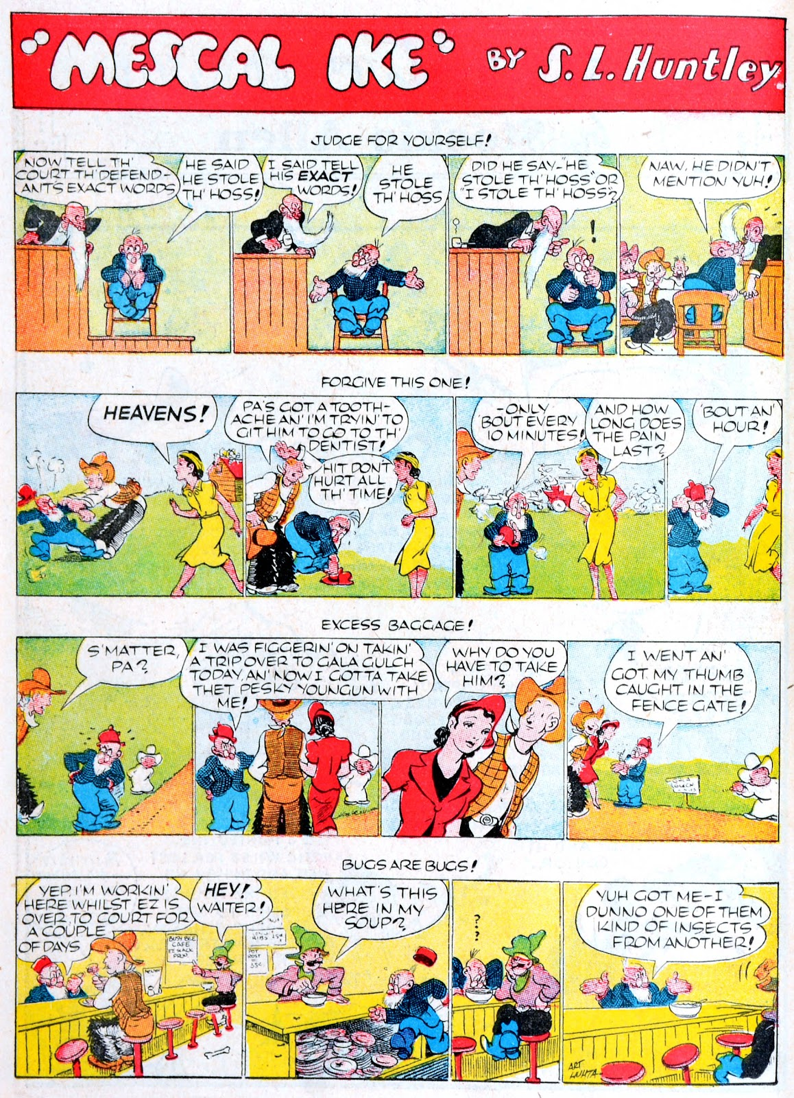 Read online Famous Funnies comic -  Issue #60 - 49