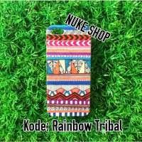 Hardcase Handphone Rainbow Tribal