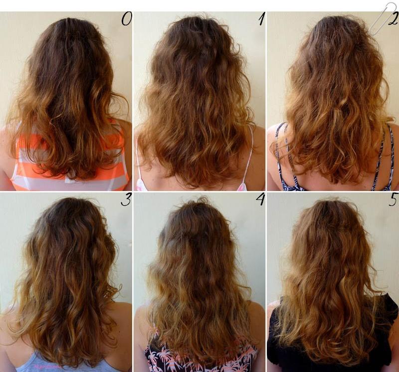pour commencer il faut savoir que mes cheveux sont chtains aux racines et plus clairs au niveau des longueurs et des pointes jai une sorte - Gele Claircissante Garnier Sur Cheveux Colors