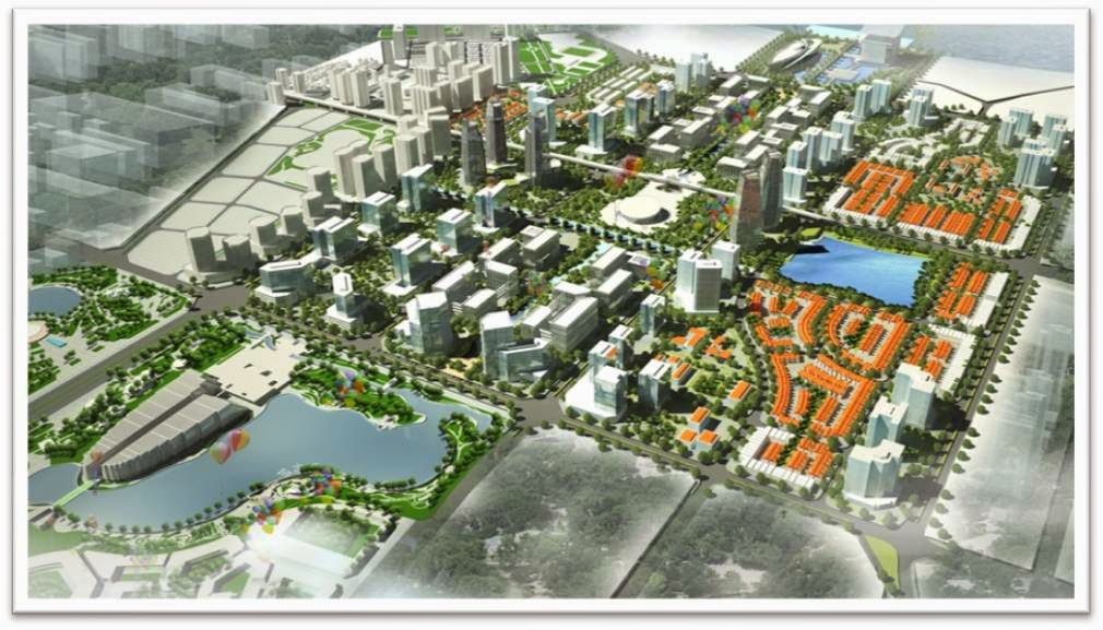 Giới thiệu tổng thể khu đô thị Tây Hồ Tây