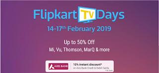 Flipkart TV Deal Days Offer
