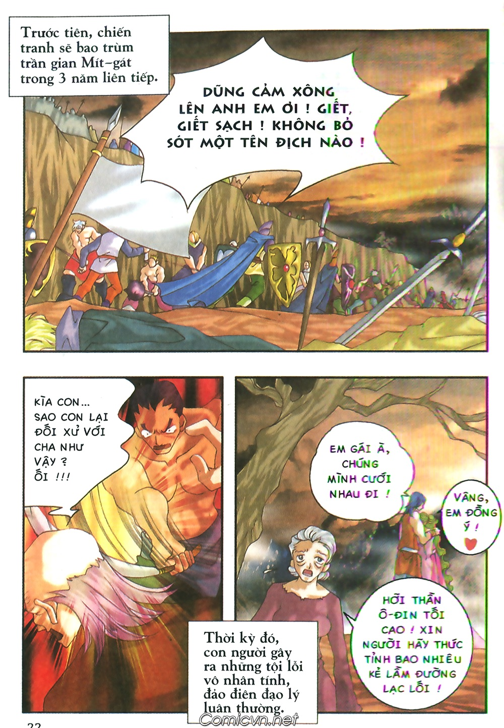 Thần thoại Bắc Âu - Chapter 48: Cuộc chiến Ragnarok - Pic 23