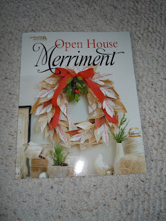 Leisure Art Open House Merriment is filled with easy food ideas and crafts for the Holidays