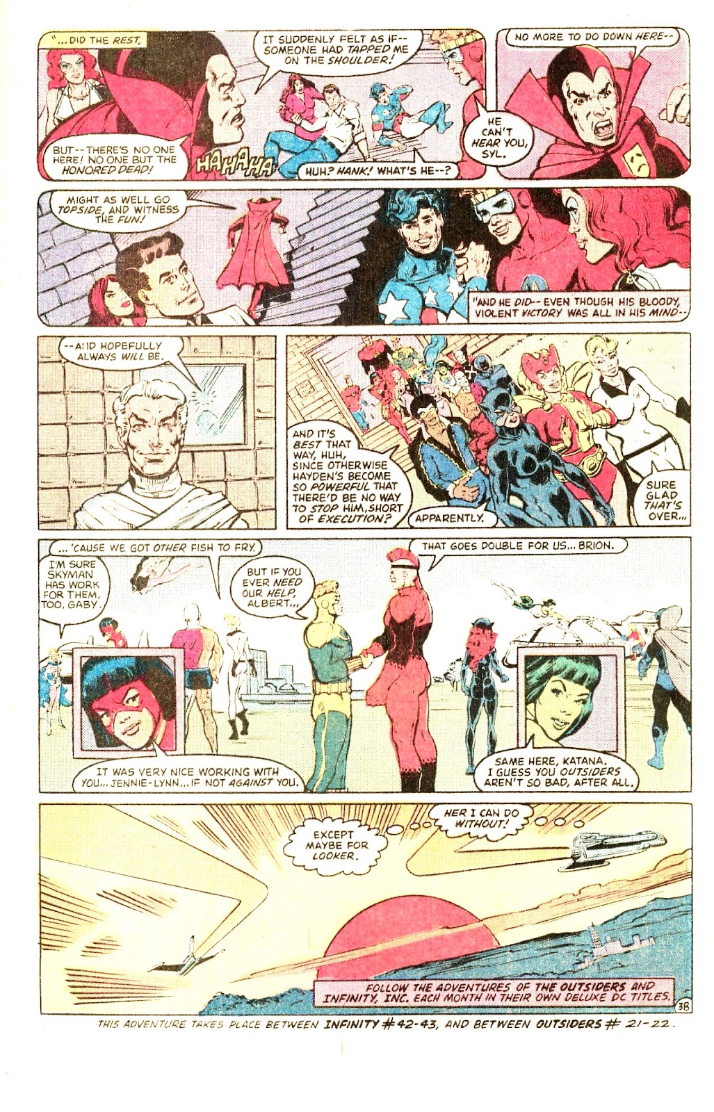 Infinity Inc. (1984) issue Special - Page 48