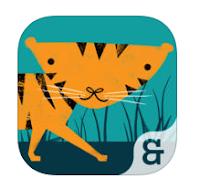 cuento animales inglés app