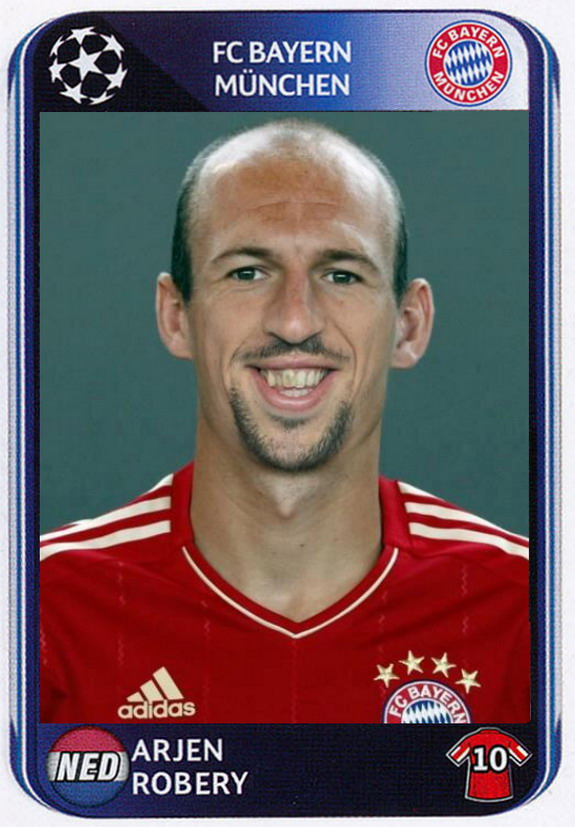 Arjen Robéry - Mash-up of Robben & Ribéry
