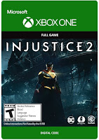 Injustice 2 Game Cover Xbox One Standard