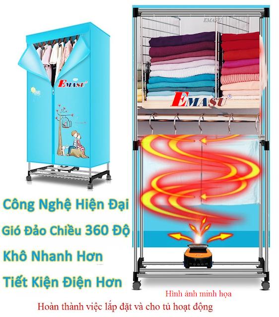 Cửa hàng bán và cung cấp tủ sấy quần áo Tiross TS880 -TS881-TS882 uy tín giá rẻ nhất Hà Nội