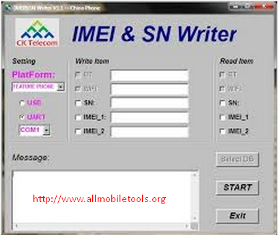 imei Sn Writer Tool Software Latest Version V1.5.3 Full Setup Free Download