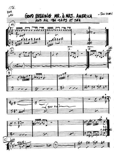 Partitura Flauta John Guerin