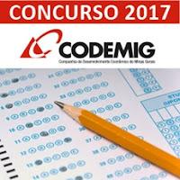 Concurso CODEMIG MG 2017 - Minas Gerais