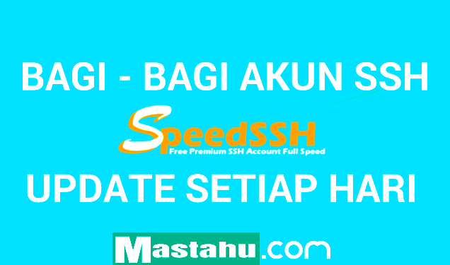 Akun SSH X-SGDO SpeedSSH Gratis